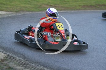 © Octane Photographic Ltd. 2011. Milton Keynes Daytona Karting, Forget-Me-Not Hospice charity racing. Sunday October 30th 2011. Digital Ref : 0194cb7d9981