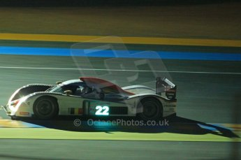 © Octane Photographic 2011. Le Mans night qualifying 9th June 2011. La Sarthe, France. Digital Ref : 0077CB1D0866