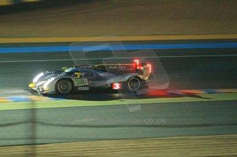 © Octane Photographic 2011. Le Mans night qualifying 9th June 2011. La Sarthe, France. Digital Ref : 0077CB1D0889