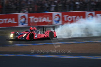 © Octane Photographic 2011. Le Mans night qualifying 9th June 2011. La Sarthe, France. Digital Ref : 0077CB7D0524