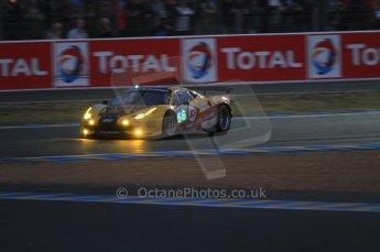 © Octane Photographic 2011. Le Mans night qualifying 9th June 2011. La Sarthe, France. Digital Ref : 0077CB7D0565