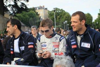 © Octane Photographic 2011. Le Mans Drivers' parade, 10th June 2011. Digital Ref : 0078CB1D1369