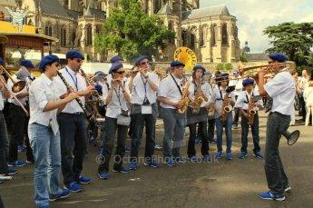 © Octane Photographic 2011. Le Mans Drivers' parade, 10th June 2011. Digital Ref : 0078LW7D4983