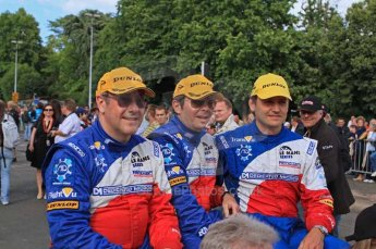 © Octane Photographic 2011. Le Mans Drivers' parade, 10th June 2011. Digital Ref : 0078CB1D1059