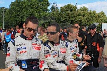 © Octane Photographic 2011. Le Mans Drivers' parade, 10th June 2011. Digital Ref : 0078LW7D5117