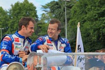 © Octane Photographic 2011. Le Mans Drivers' parade, 10th June 2011. Digital Ref : 0078LW7D5122