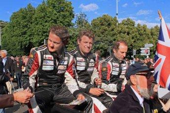 © Octane Photographic 2011. Le Mans Drivers' parade, 10th June 2011. Digital Ref : 0078LW7D5127