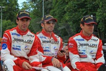© Octane Photographic 2011. Le Mans Drivers' parade, 10th June 2011. Digital Ref : 0078LW7D5223