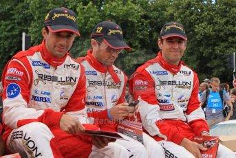 © Octane Photographic 2011. Le Mans Drivers' parade, 10th June 2011. Digital Ref : 0078LW7D5229