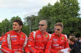 © Octane Photographic 2011. Le Mans Drivers' parade, 10th June 2011. Digital Ref : 0078LW7D5253