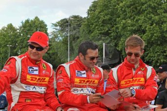 © Octane Photographic 2011. Le Mans Drivers' parade, 10th June 2011. Digital Ref : 0078LW7D5261