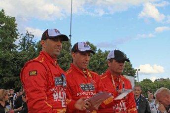 © Octane Photographic 2011. Le Mans Drivers' parade, 10th June 2011. Digital Ref : 0078LW7D5264