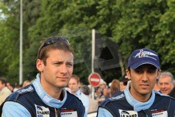 © Octane Photographic 2011. Le Mans Drivers' parade, 10th June 2011. Digital Ref : 0078LW7D5276