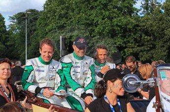 © Octane Photographic 2011. Le Mans Drivers' parade, 10th June 2011. Digital Ref : 0078LW7D5302