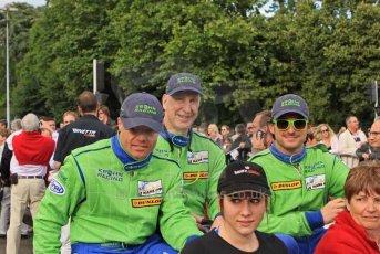 © Octane Photographic 2011. Le Mans Drivers' parade, 10th June 2011. Digital Ref : 0078LW7D5331