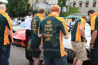 © Octane Photographic 2011. Le Mans Drivers' parade, 10th June 2011. Digital Ref : 0078LW7D5334