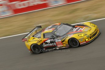 © Octane Photographic 2011. Le Mans finish line and podium - Sunday 11th June 2011. La Sarthe, France. Digital Ref : 0263cb1d3531