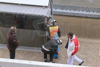 © Octane Photographic 2011. Le Mans finish line and podium - Sunday 11th June 2011. La Sarthe, France. Digital Ref : 0263lw7d7572