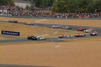 © Octane Photographic 2011. Le Mans Race - Saturday 10th June 2011. La Sarthe, France. Digital Ref : 0112LW7D6032