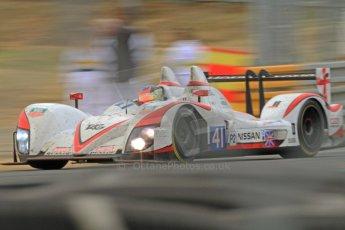 © Octane Photographic 2011. Le Mans Race - Sunday 11th June 2011. La Sarthe, France. Digital Ref : 0262cb7d0905