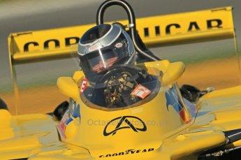 © Octane Photographic Ltd. 2011 Masters Racing Espiritu de Montjuic, April 8th 2011. Grand Prix masters, Historic Formula 1 racing. Digital Ref : 0042CB1D0215
