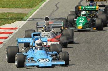 © Octane Photographic Ltd. 2011 Masters Racing Espiritu de Montjuic, April 10th 2011. Grand Prix masters, Historic Formula 1 racing. Digital Ref : 0042CB1D1240