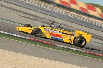 © Octane Photographic Ltd. 2011 Masters Racing Espiritu de Montjuic, April 8th 2011. Grand Prox masters, Historic Formula 1 racing. Digital Ref : 0042CB1D0347