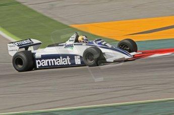 © Octane Photographic Ltd. 2011 Masters Racing Espiritu de Montjuic, April 10th 2011. Grand Prix masters, Historic Formula 1 racing. Digital Ref : 0042CB7D1033