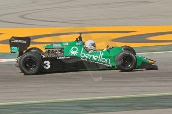 © Octane Photographic Ltd. 2011 Masters Racing Espiritu de Montjuic, April 10th 2011. Grand Prix masters, Historic Formula 1 racing. Digital Ref : 0042CB7D1061