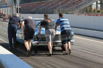 © Octane Photographic Ltd. 2011 Masters Racing Espiritu de Montjuic, April 8th 2011. Pre-1966 Touring Cars. Digital Ref : 0041CB7D0344
