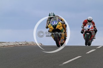 © Octane Photographic Ltd 2011. NW200 Thursday 19th May 2011. James McCann, Yamaha - Inver Tool Hire; Stefano Bonetti, Honda - Speed Motor. Digital Ref : LW7D2099