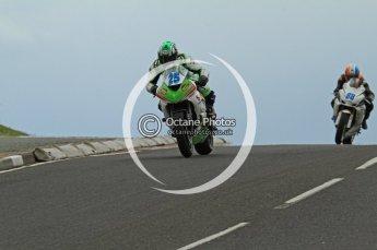 © Octane Photographic Ltd 2011. NW200 Thursday 19th May 2011. Robert Wilson, Kawasaki - Stoddart Racing; Adam Child, Suzuki - Ken Urwin M/cycles / MCN. Digital Ref : LW7D2437