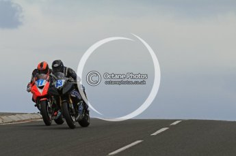 © Octane Photographic Ltd 2011. NW200 Thursday 19th May 2011. David Mulligan, Yamaha; Ryan Farquhar, Kawasaki - KMR Kawasaki / BA Components. Digital Ref :