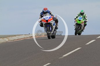 © Octane Photographic Ltd 2011. NW200 Thursday 19th May 2011. Gary Johnson, Honda - East Coast Racing; Robert Wilson, Kawasaki - Stoddart Racing. Digital Ref : LW7D2746
