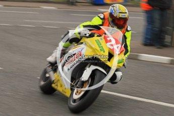 © Octane Photographic 2011. NW200, 17th May 2011 Newcomers practice. Jeremy Toye, Kawasaki - Sondel Racing Kawasaki UK. Digital ref : LW7D9339