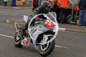 © Octane Photographic 2011. NW200, 17th May 2011 Superbike practice. Mark Parrett, BMW - C & C Ltd. Mark Parrett Racing. Digital ref : LW7D9621