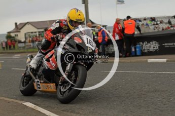 © Octane Photographic 2011. NW200, 17th May 2011 Supersport practice. John Burrows, Suzuki - Cookstown BE Racing. Digital ref : LW7D0665
