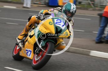 © Octane Photographic 2011. NW200, 17th May 2011 Supersport practice. James McCann, Yamaha - Inver Tool Hire. Digital ref : LW7D0979