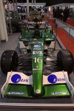 World © Octane Photographic Ltd. Race Retro 25th February 2011. Historic F1 cars. Jaguar R1 - Eddie Irvine. Digital Ref : 0644cb40d5615