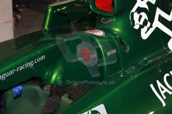 World © Octane Photographic Ltd. Race Retro 25th February 2011. Historic F1 cars. Jaguar R1 - Eddie Irvine. Digital Ref : 0644cb7d1730