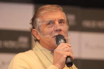 World © Octane Photographic Ltd. Race Retro 25th February 2011. Giacomo Agostini. Digital Ref : 0644cb7d2859
