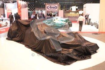 Autosport International 2011. Renault 2011 livery launch. Digital ref : 0046CB1D5191