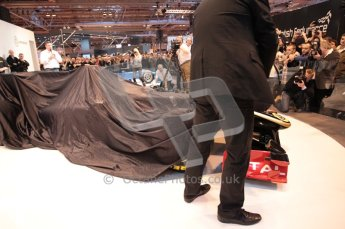 Autosport International 2011. Renault 2011 livery launch. Digital ref : 0046CB1D5919