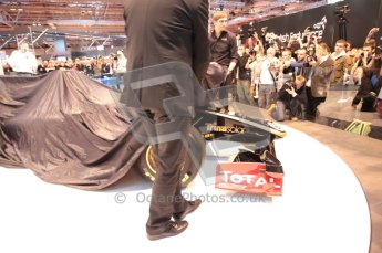 Autosport International 2011. Renault 2011 livery launch. Digital ref : 0046CB1D5921