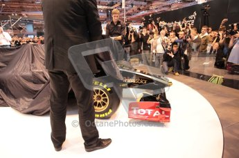 Autosport International 2011. Renault 2011 livery launch. Digital ref : 0046CB1D5923