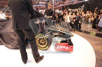 Autosport International 2011. Renault 2011 livery launch. Digital ref : 0046CB1D5926