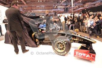 Autosport International 2011. Renault 2011 livery launch. Digital ref : 0046CB1D5938