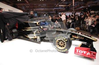Autosport International 2011. Renault 2011 livery launch. Digital ref : 0046CB1D5953