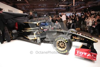Autosport International 2011. Renault 2011 livery launch. Digital ref : 0046CB1D5954