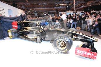 Autosport International 2011. Renault 2011 livery launch. Digital ref : 0046CB1D5961
